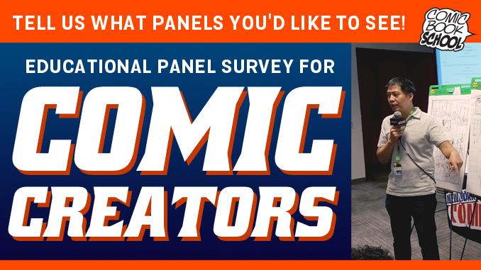 Comic Creator Survey Header Image