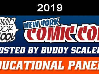 NYCC 2019 Educational Panels Header