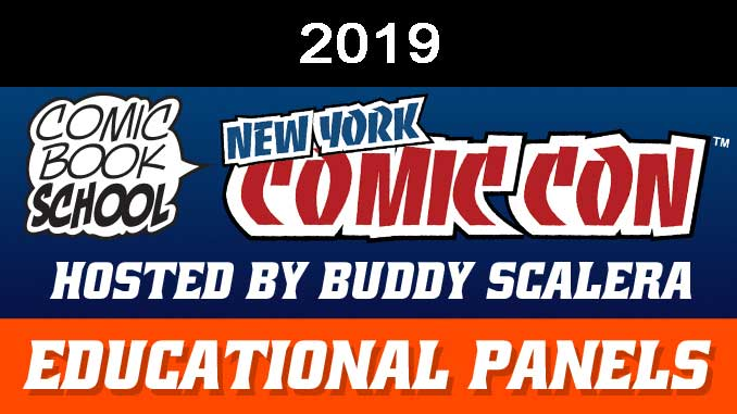 NYCC 2019 Educational Panels Header