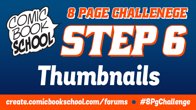 Graphic for Thumbnails stage of 8 Page Challenge