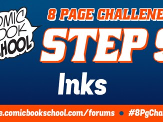 Header image for Step 9 Inking