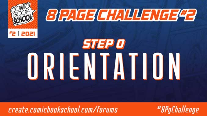 Header for Step 0 Orientation