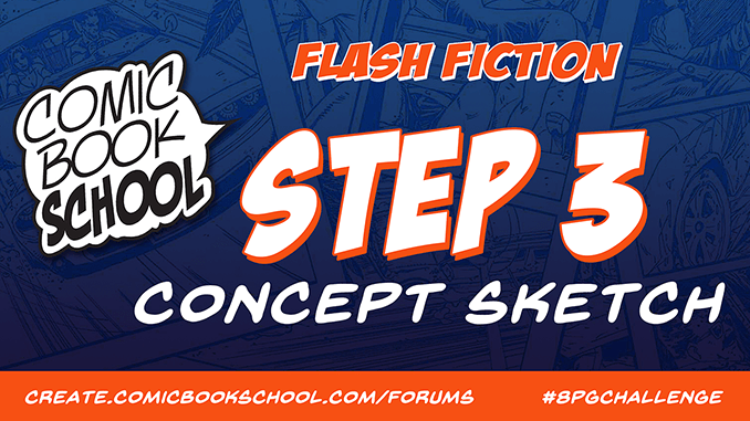 Header for Flash Fiction Step 3