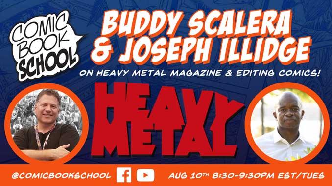 Heavy Metal Joe Illidge Header