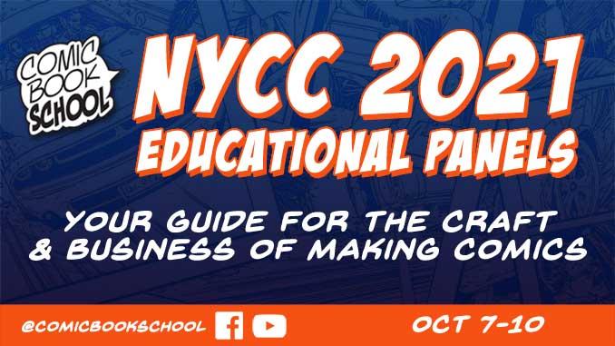 NYCC 2021 Educational Panels Header
