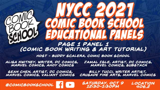 NYCC 2021 Page 1 Panel 1 Header