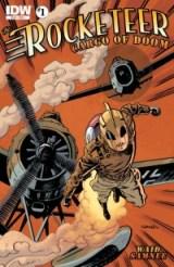 Rocketeer comic book cover