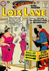 a fat lois lane in the comics