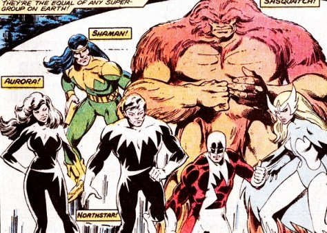 John Byrne's Alpha Flight
