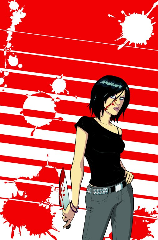 This is the only picture of Cassie Hack with clothes on that I could find.