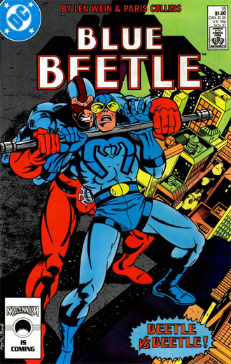 Blue Beetle #18 (Nov. 1987)