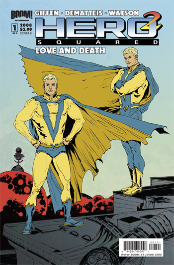 Hero Squared: Love And Death #1
