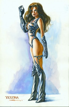 Witchblade by Texeira