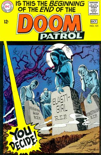 Doom Patrol #121 (Sept. 1968)