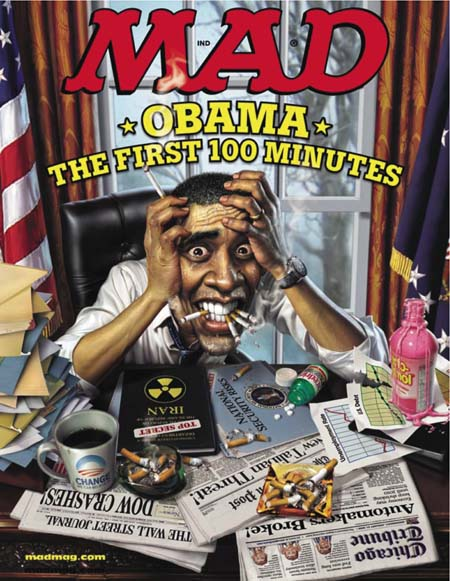 Mad'S Obama Cover Now Available For Reorder!