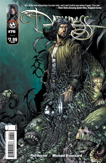 Avant-Première VO : Review: The Darkness #76