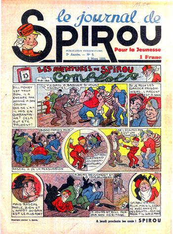 fLe Journal de Spirou n°9 de 1939