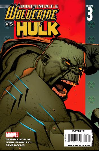 Wolverine vs Hulk #3