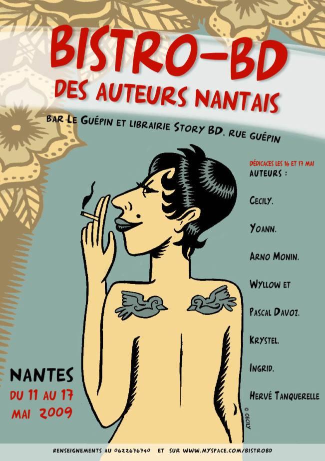 Première édition du Bistro-BD de Nantes (11-17 Mai 2009)