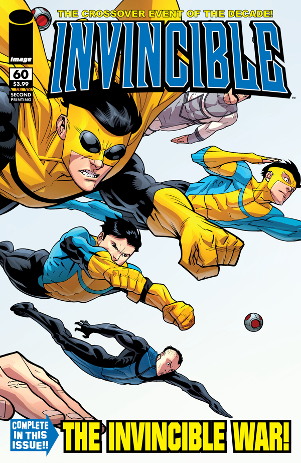 The Sold-Out Invincible #60 Flies Again Next Week!