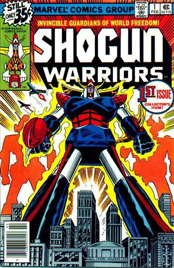 Shogun Warriors #1 (Fev. 1979)