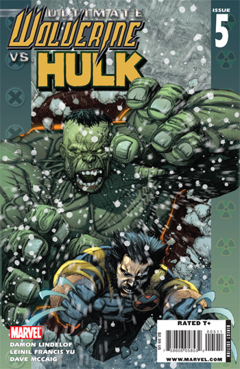 Ultimate Wolverine vs Hulk #5