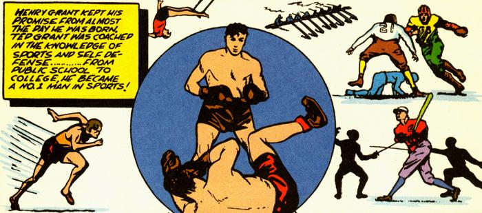 L'enfance de Ted Grant, un long entraînement...