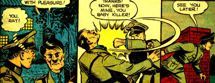 Le seul héros Marvel qui a un autographe d'Hitler.