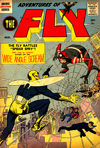 Aventures of the Fly #1 (Août 1959)