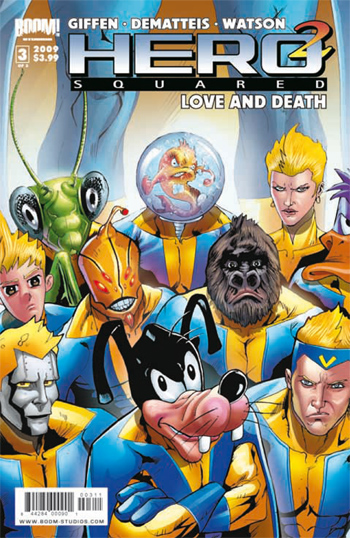Avant-Première VO : Hero Squared: Love & Death #3