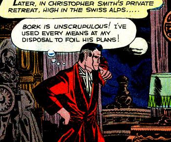 Christopher Smith ? On dirait Bruce Wayne le soir où il est devenu Batman...