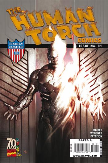 Human Torch Comics #1