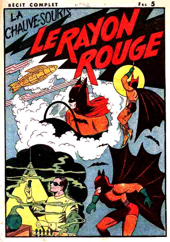 La Chauve-Souris - Le Rayon Rouge DL 42