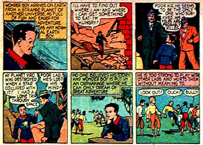 Personne ne croit à l'histoire de Wonder Boy, il est donc placé à l'orphelinat...