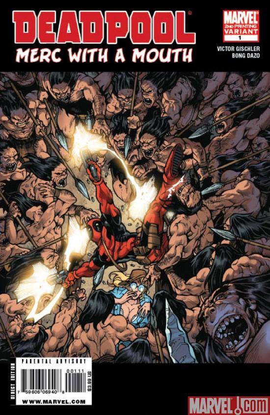 Deadpool: Merc With A Mouth #1 Variant