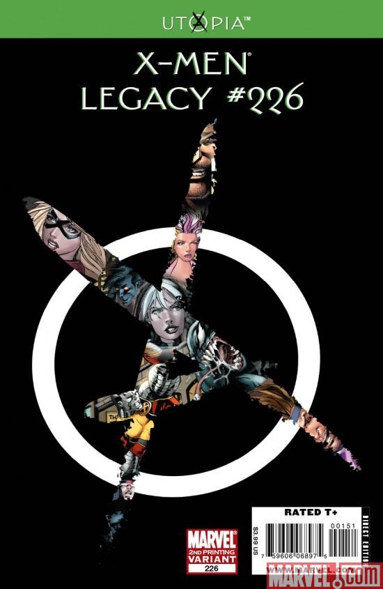 X-Men Legacy #226 New Printing!