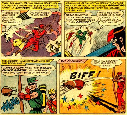 Les premiers faits d'armes du Crimson Archer...