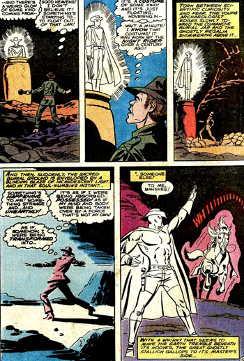 """Hamilton Slade, descendant de Carter Slade, est le premier """"Phantom Rider"""" à posséder de vrais pouvoirs magiques..."""
