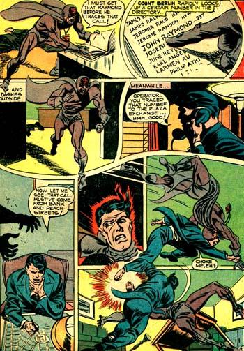Le Count Berlin attaque John chez lui...