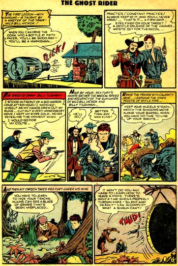 Rex Fury est form� par les fant�mes des plus grands aventuriers de l'Ouest. Sauf qu'il y a comme un petit probl�me d'ordre historique...