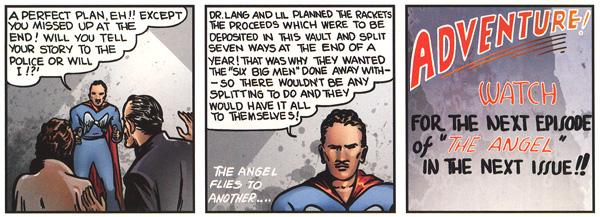 L'Angel commente l'histoire et explique le plan du Docteur Lang