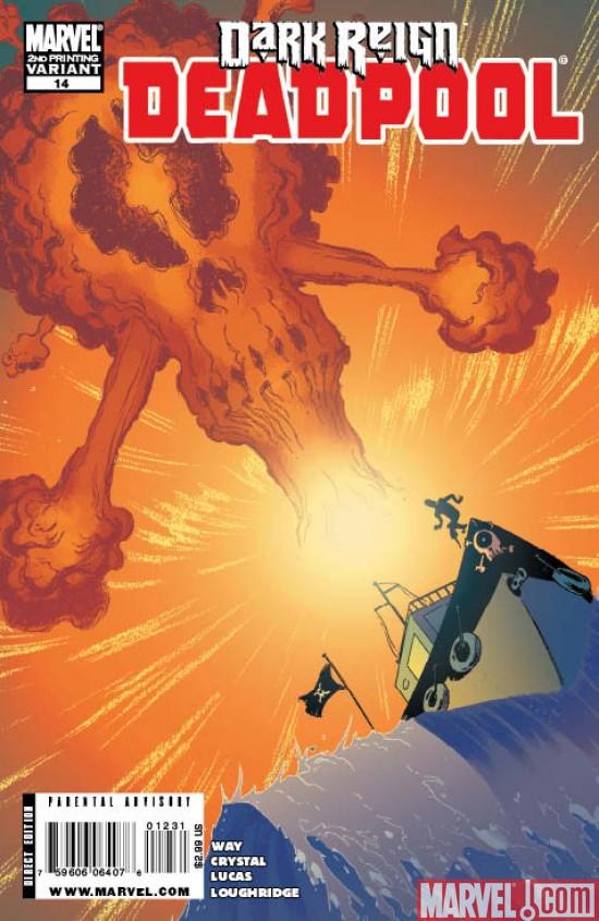 Deadpool #14 & Deadpool #15 Second Printings!