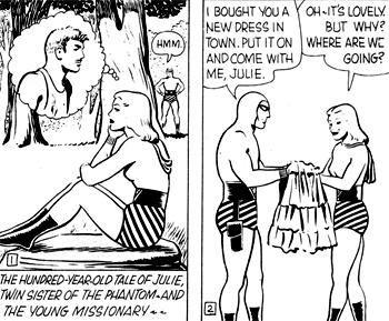"""Le Phantom """"mâle"""" prend le destin de sa soeur en main..."""