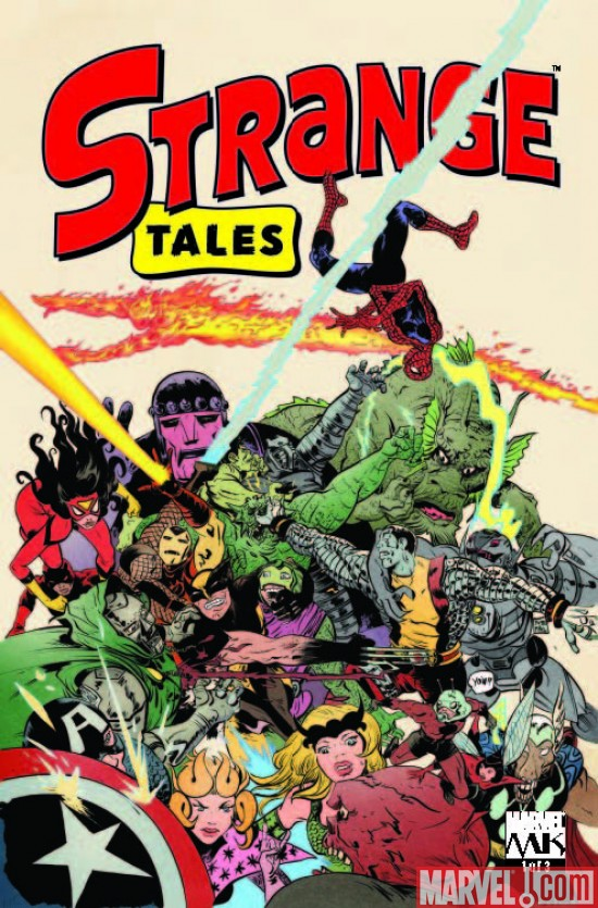 Strange Tales #1 On Sale Now!