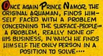 """Le mot """"Aquaman"""" dans un comic-book de Marvel"""