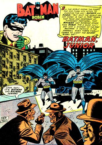 Quel est le secret de Batman Junior, le premier sidekick de Batman ?