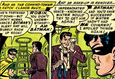 Batman avait tendu un second piège à Binter... Robin vient une nouvelle fois de le faire échouer !