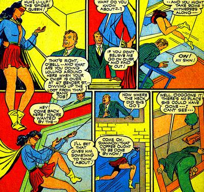 L'astuce de Spider-Queen pour cacher son identité réelle...