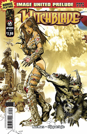 Avant-Première VO : Review Witchblade #131