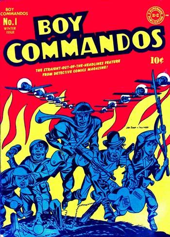 Boy Commandos #1 (1942)